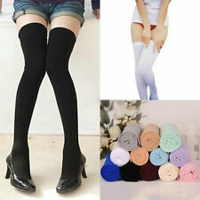 Women Warm Over The Knee Thigh High Soft Socks Stockings Leggings Ladies Girls