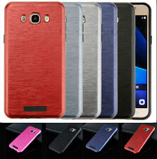 Luxury Metal Aluminum Brushed Soft TPU Hard Phone Case Cover for Samsung Galaxy