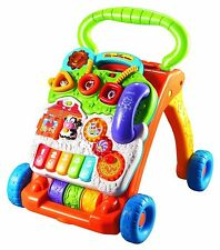 Interactive Learning Baby Walker - Sit to Stand Walker from VTech