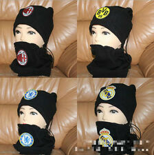 Liverpool/Real Madrid/Chelsea/BVB Football Club Soccer Neck Warmer Snood Scarf