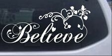 Christian Believe Wall Decal Car or Truck Window Laptop Decal Sticker 8X18.2