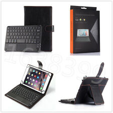 """Touch Mouse Wireless Bluetooth Keyboard Stand Case For Universal 7""""8"""" Tablet+Pen"""