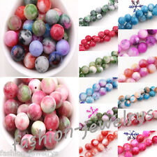 Lots 15/20/25Pcs Natural Gemstone Round Spacer Loose Beads 6-10mm Free Shipping