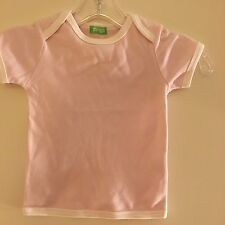 New 100% Organic Cotton Pink T-shirt