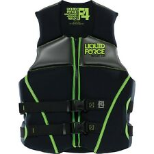 Liquid Force Reflex CGA Vest in Black / Green