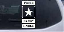 Proud Army Logo Uncle Car or Truck Window Laptop Decal Sticker 6X12.6