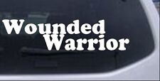 Wounded Warrior Car or Truck Window Laptop Decal Sticker 10X2.5