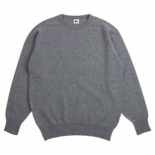 Community Clothing Women's Grey Wool Crew Neck Jumper
