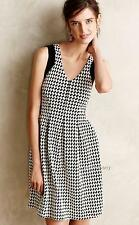 NEW Anthropologie Maeve Four & Four Flared Dress  Size L