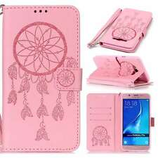 Dreamcatcher PU Leather Flip Wallet Book Case Cover Stand Strap For Phones Pink