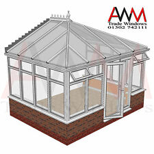 Edwardian uPVC Conservatory 4m x 3m Made to Measure **NEW Conservatories**