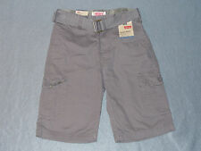 NWT Boys Levi's Belted Relaxed Cargo Shorts - U Pick Size - 12,14,18,20 MSRP $42