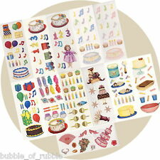Creative Memories Studio Sticker BIRTHDAY PARTY FOOD FAVOURS CELEBRATION Choice