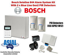 Bosch Solution 844 Alarm Kit w/ Blue Line Gen2 Detectors (Icon Keypad)