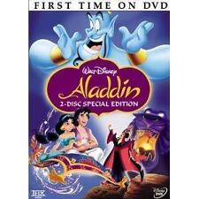 Aladdin DVD, 2004, 2-Disc Set, Special Edition English/French/Spanish