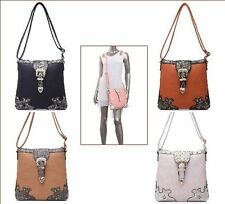 Ladies Cross Body Bag Shoulder Bag with Studs NEW Design Quality