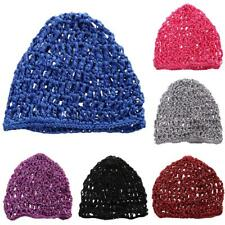 KNITTED BEANIE HAT WINTER WARM WOOLY UNISEX MENS LADIES SKI SKULL CAP