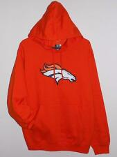 DENVER BRONCOS HOODIE MENS 2XL 3XL MAJESTIC TELEPATCH SWEATSHIRT HOODED NWT