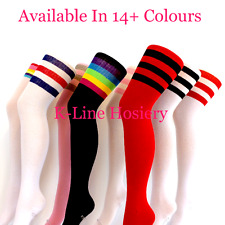 1 Pair Of Flirt Football Referee Over The Knee Thigh High Socks , UK Size 4-7