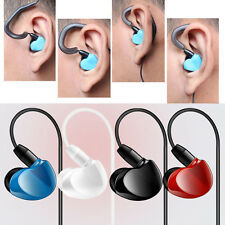 3.5mm Super Bass Stereo In-Ear Earphone With Mic Headset For iPhone Samsung LG