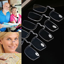 Portable Clip Presbyopic SOS Wallet Glasses Old Reading Glasses Lightweight