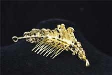 Wedding Bridal Crystal Crown Tiara Rhinestone Prom Pageant Headband Silver/Gold