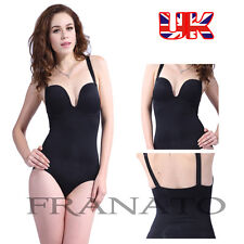 Ladies Full Body Briefer Shaper Slimmer Firm Control Slimming Bodysuit Shapewear