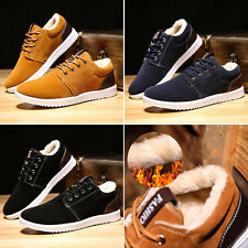 2016 New Men's Casual Board Shoes Fashion Breathable Casual Sneakers Winter Warm