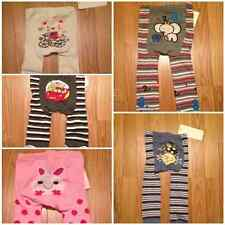 NWT Baby Boy/Girl Knit Tights Rabbit, Kitty, Cars, Cow over Moon 3 mos -24 mos