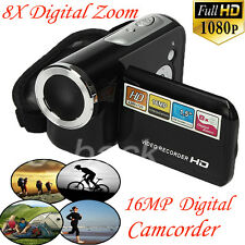 "1.5"" TFT LCD Digital Video Camcorder 16MP 8X Digital Zoom HD 1080P Camera DV"