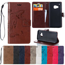 Luxury Magnetic Flip Cover Stand Wallet Leather Case Skin For HTC Desire Phones