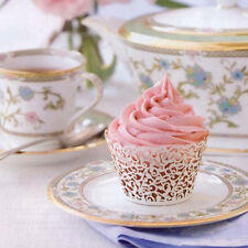 EF06 50 Filigree Little Vine Laser Cut Cupcake Wrapper Liner Baking Cup CNCA