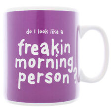 GET IT NOW Morning Person Giant Mug in Purple