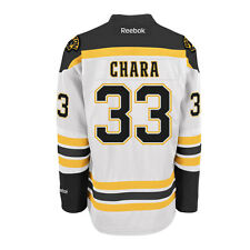 Zdeno Chara Boston Bruins Reebok Premier Replica Road NHL Hockey Jersey