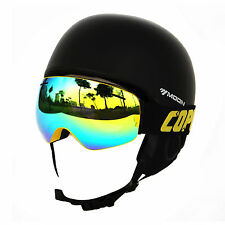 Ski Goggles Double Layers Lens UV400 Anti-fog Big Ski Mask Glasses Snowboard