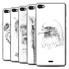 STUFF4 Back Case/Cover/Skin for Wiko Highway Pure 4G/Sketch Drawing