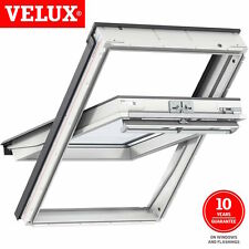 Velux Roof Window Centre Pivot White Painted Velux Window GGL 2070 Select Size