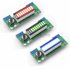 LM3914 3.7V Lithium Battery Capacity Power Level LED Display Test Board