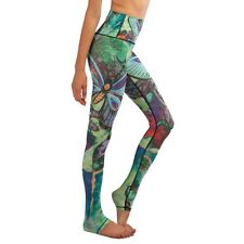 Women Yoga Pant Sports Leggings Fitness Tights Colorful Butterfly Sport Trousers