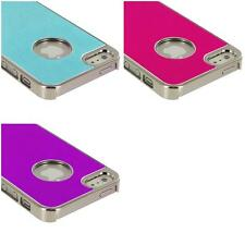 For iPhone 5 5G 5th Aluminium Brushed Metal Color Hard Ultra Thin Case Cover