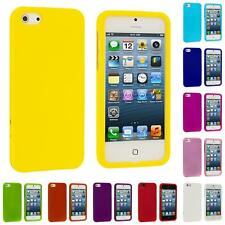 For iPhone 5 5G 5th Color Hard Snap-On Rubberized Case Skin Cover Accessory