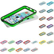 For Apple iPhone 5C Color TPU Bumper Frame Rubber Case Cover Accessory