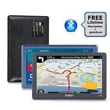 "XGODY 7""SAT NAV Touch Screen 8GB FM Car GPS Navigation WIth Bluetooth AV-IN POI"