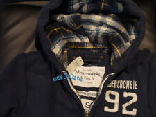 Abercrombie & Fitch Hollister Co. fully lined fleece hoodies NWT authentic items