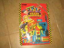 """RARE """"THE INCREDIBLE CRASH DUMMIES BULL IN PRO-TEK SUIT""""FIGURE MADE BY TYCO 1992"""