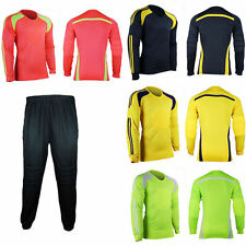 Men Soccer Keeper Football Goalkeeper Goalie Foam Padded Jersey Shirt Tops New
