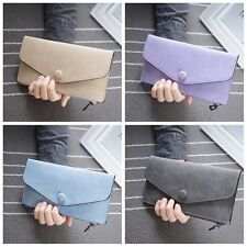 Lady Envelope Clutch Credit Card Wallet Shoulder Handbag Wristlet Bag Tote Purse