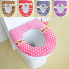 New Toilet Bathroom Antibacterial Thick soft Potty Toilet Seat Cover Mat