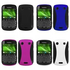 For BlackBerry Bold Touch 9900 9330 Hybrid Rugged Impact Hard Soft Case Cover