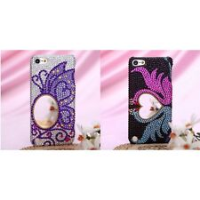 For Apple iPod Touch 5th 6th Gen Diamante Diamond Bling Rhinestone Case Cover
